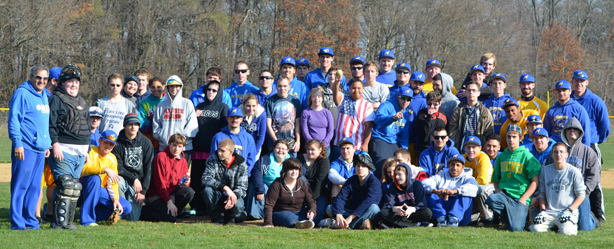 Ancilla College Baseball Team and JESSE Kids