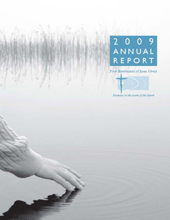 The 2009 Annual Report Cover