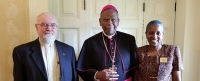 HealthVisions of East St. Louis and the Poor Handmaids of Jesus Christ Meet with Bishop Braxton