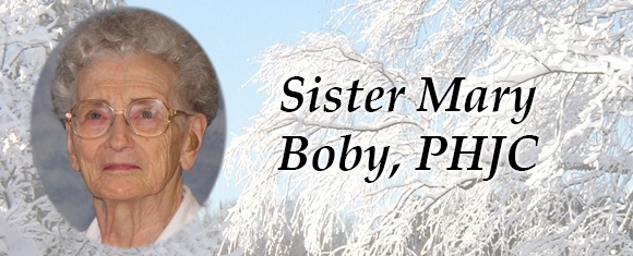 In Memory of Sister Mary Boby, PHJC