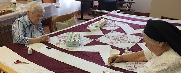 Quilt Fundraiser is a Labor of Love