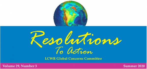 LWCR Resolutions to Action - Summer 2020