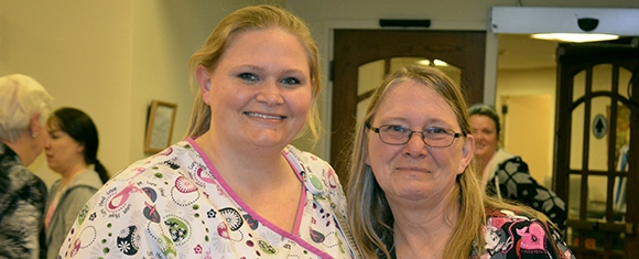 Gaylene Engle named Catherine Kasper Home Employee of the Year