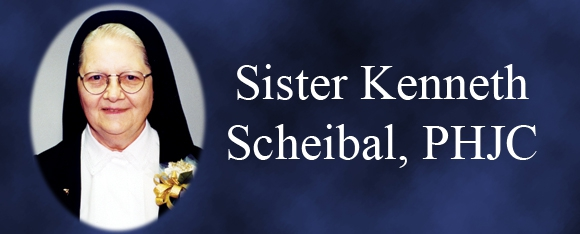 In Memory of Sister Kenneth Scheibal, PHJC